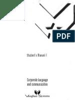 Curso de Inglés Vaughan - Student's Manual - Libro 01