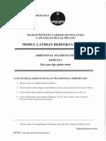 Trial Penang 2014 SPM Matematik Tambahan K2 [SCAN]