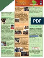 July - August 2014 Newsletter