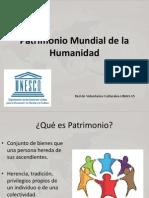 Patrimonio Mundial y Hondureño