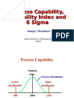 PPT 03 Process Capability and CPK Index