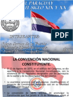Paraguay Entre El Siglo XIX y XX