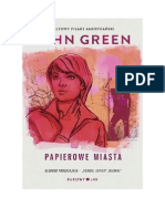 John Green Papierowe Miasta (Www Dodane Pl)