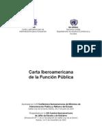 [1] 161009_carta Iberoamericana de La Funcion Publica