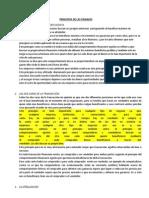 Principios de Las Finanzas- Resumen