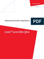 Ineo Plus 220 280 360 Advanced Function en 1-1-0