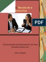 Nevoia de a Comunica