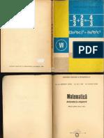 Manual - Matematica - Clasa a VI-A