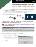 DVG 5112S Atualizacao de Firmware
