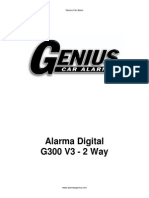 Alarma Genius Digital G300a