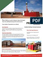 Australia Drilling Flare Tanks