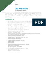 Cfa Program Partners by Region
