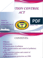 Polution Act
