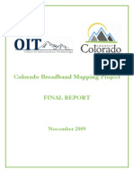 Colorado Broadband Mapping Project