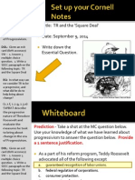 WEBNotes - Day 4 - 2014 - TR and Square Deal