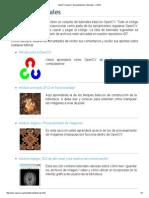 OpenCV OpenCV Documentación Tutoriales - 2.4.9