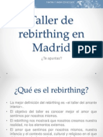 Taller de Rebirthing en Madrid