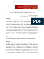 El Pacifismo Jur Dico de Luigi Ferrajoli