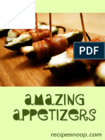 Amazing Appetizers (Resipesnoop)