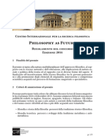 PhilosophyAsFuture_regolamento