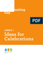 Global Handwashing Day Celebration Ideas