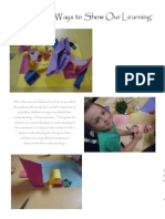 ways to show our learning documentation