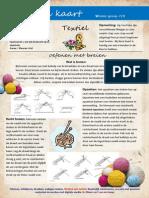 5. Winterkaart Textiel Haken en Breien
