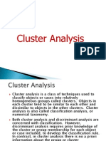 Cluster Analysis BRM Session 14