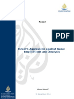Israel's Aggression Against Gaza-Implications and Analysis