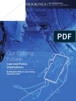 Our Cyborg Future- Law and Policy Implications