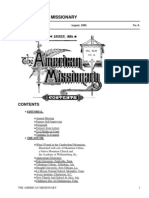The American Missionary — Volume 43, No. 08, August, 1889 by Various