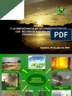 Presentacion.inrena.conservacion.recurso.natu.Huanuco