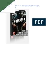 Call of Duty - Black