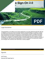 SAP Single Sign-On Overview Presentation