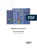 Oxford Inflator Manual