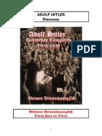 Discursos Adolf Hitler