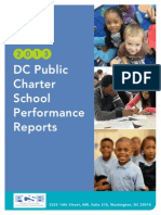 DC Public Charter School 2013 School Performance Reports