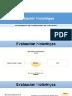 15.3 Evaluacion Hiolaringea