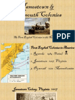 jamestown  plymouth colonies