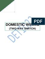 DET 1022 WIRING TWO WAY SWITCH