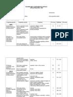Planificări Calendaristice - Pian Complementar v - VIII