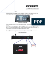 Manual PTZ Universal