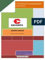 escort training report on cylinder block.docx