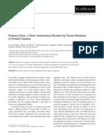 Oecomys Arenavirus FrenchGuiana-2014