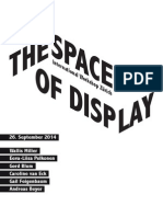 Program TheSpaceofDisplay