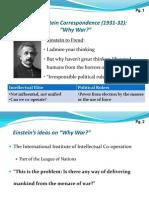 Freud Einstein Correspondence