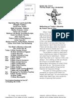 Worship Folder - 20091213