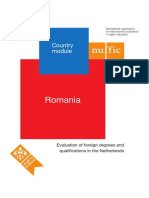 Country Module Romania