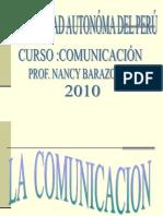Clase Nº 1 La Comunicacion