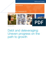 MGI Debt and Deleveraging Uneven Progress to Growth Report